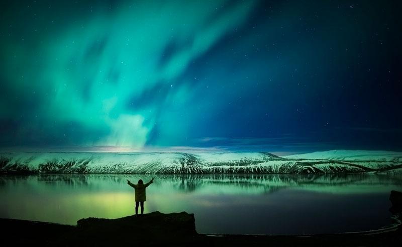 На охоту за полярным сиянием