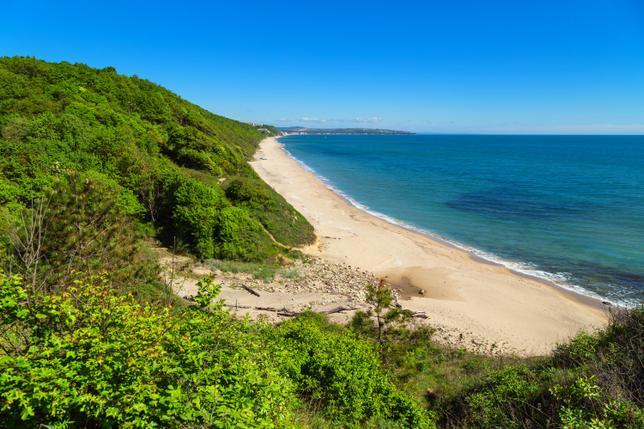 Болгария 2018 – разница между Слынчевым брягом и Золотыми песками