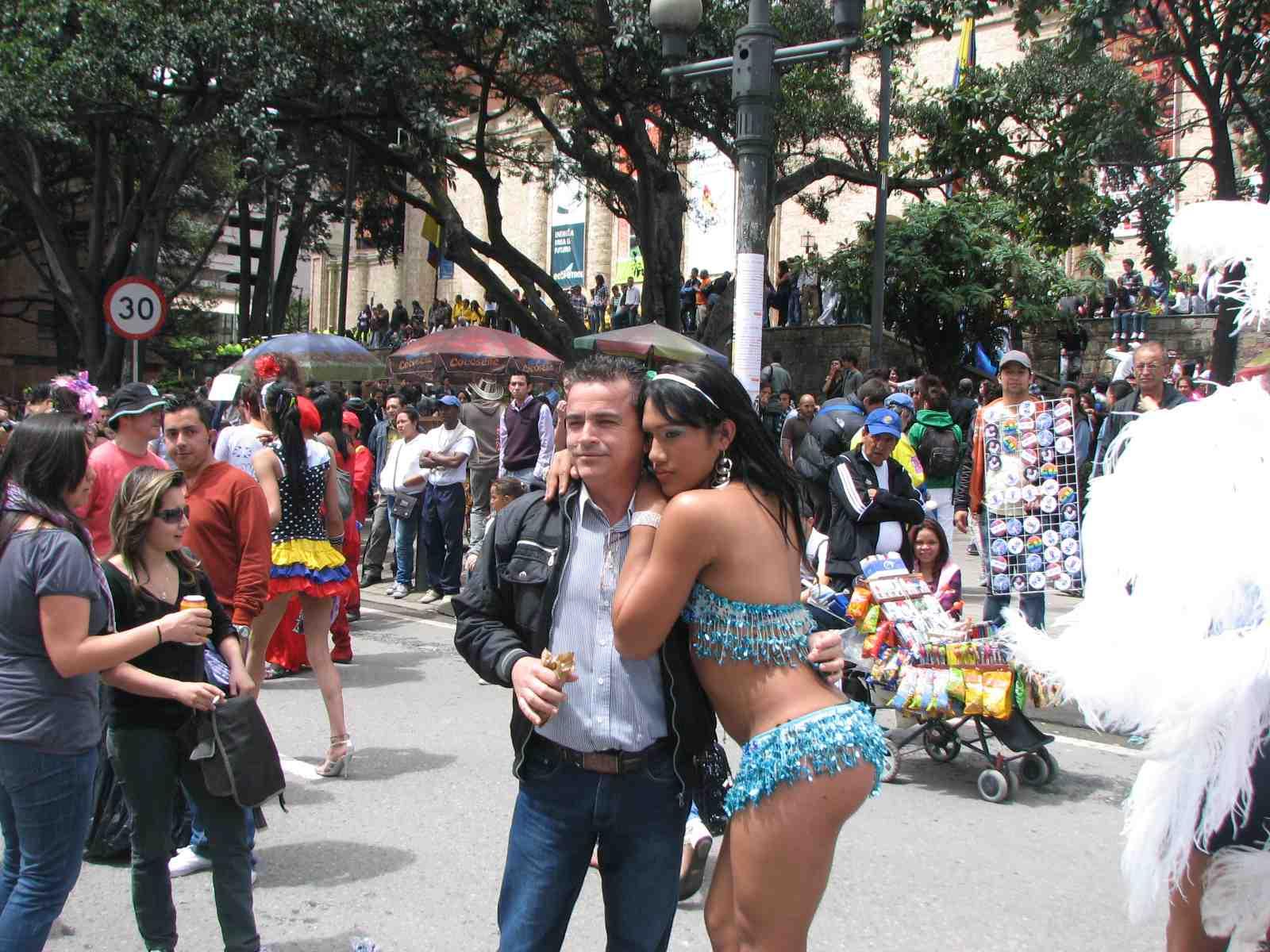 Богота — город черных вдов