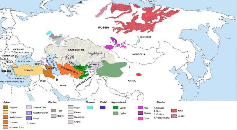 Турецкий язык в качестве международного