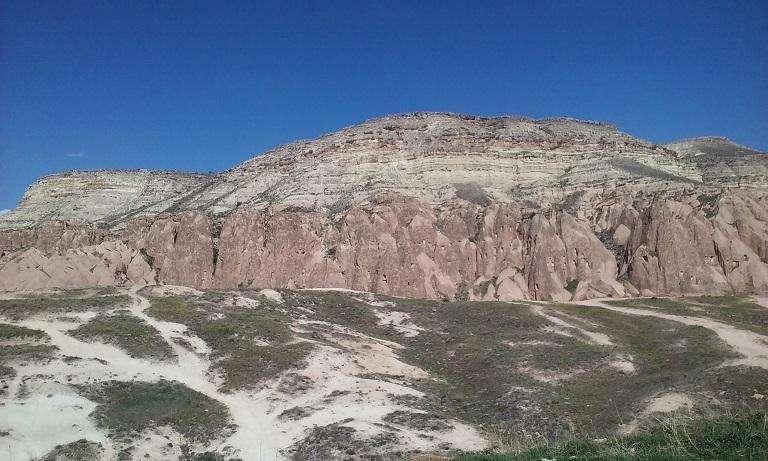 """Каппадокия, на этой горе снимались эпизоды """"Звездных войн"""""""