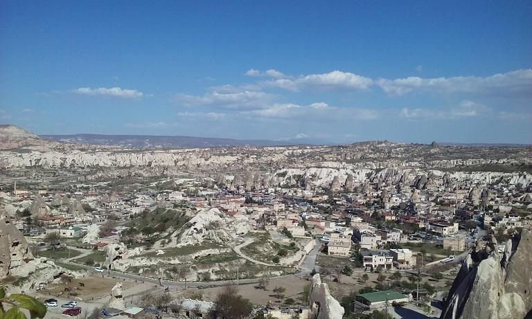 Панорама Учхисара, Каппадокия