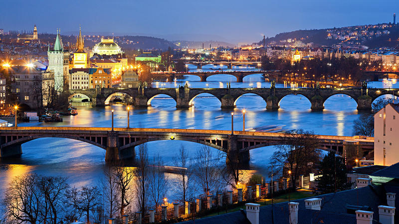 Atakum Travel - Вечерняя Прага