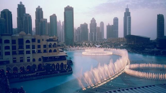 ОАЭ. Дубай. Фонтаны