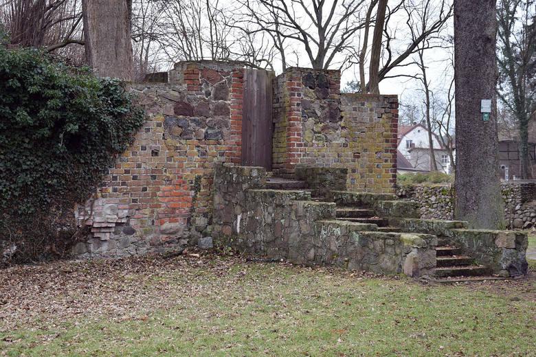 Остатки немецких фортификаций. Лагов