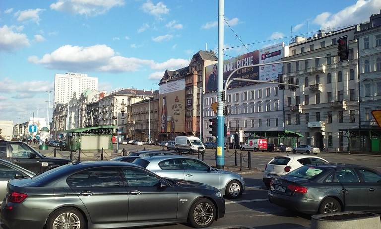 Варшава, центр