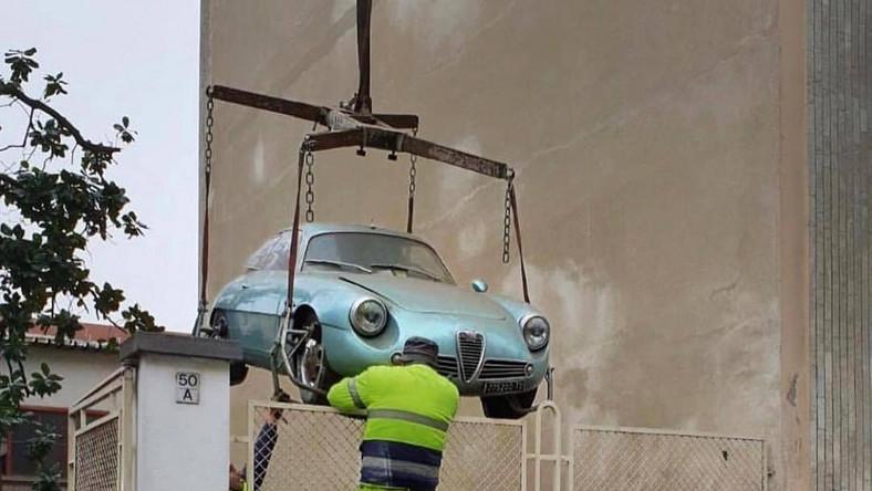 Alfa Romeo Giulietta ZS найден в подвале дома