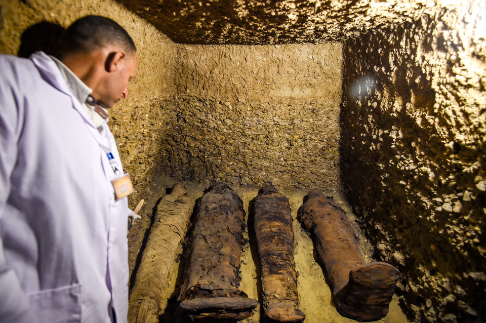 мумии времен птолемея