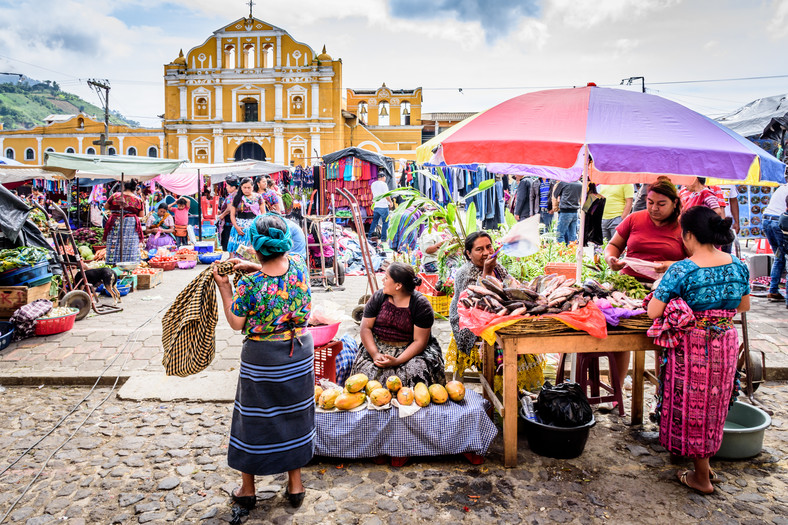 Рынок в Старой Гватемале