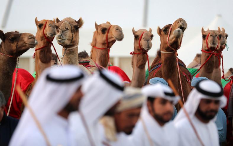 Участники конкурса красоты в Саудовской Аравии
