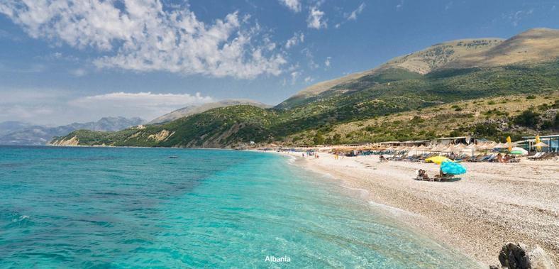 Пляжи Саранда - Албания