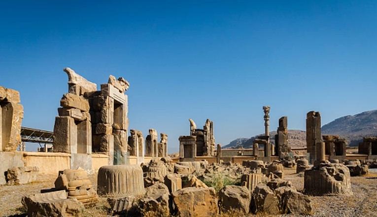 сасанидский иран, развалины