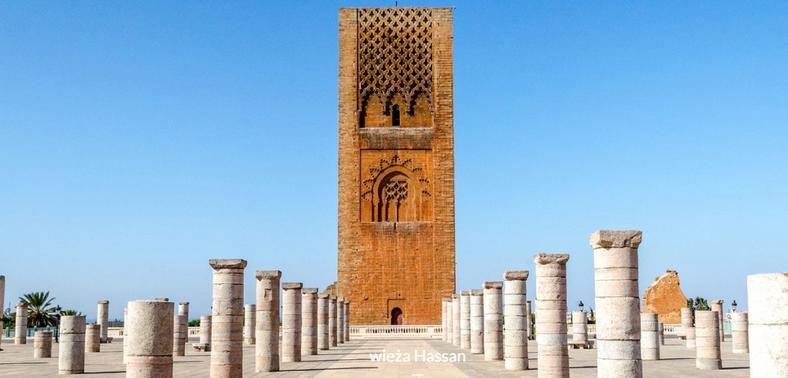 Башня Хассана - символ столицы Марокко