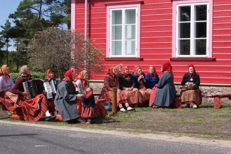 Женщины острова Кихну (Эстония)